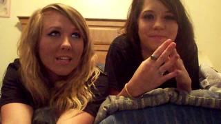 Megan & Grace Play The ALPHABET game!