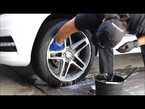 Auto Detailing: How to Clean Wheels (Mercedez GLK 350)