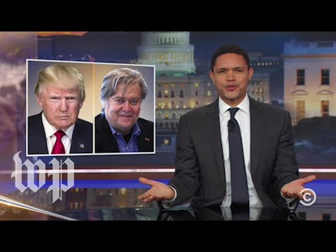 Late-night reactions: The epic Trump-Bannon feud