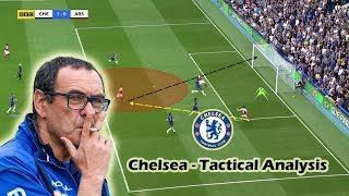 Maurizio Sarri At Chelsea   Tactical Analysis   Positives & Negatives
