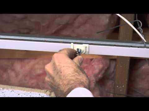 Track Suspension HX-T-CLIP-BA-4-16W t-bar clip overview and installation guide