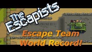 Escape Team DLC - 1 Day World Record Escape! | The Escapists [XBOX ONE]