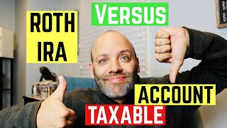 INVESTING IN ROTH IRA or TAXABLE ACCOUNT? | Investing 101