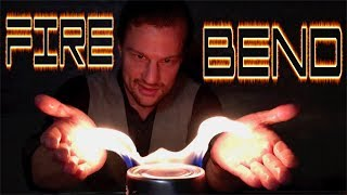 HOW TO FIRE BEND like an Avatar   Using ELECTRICITY  