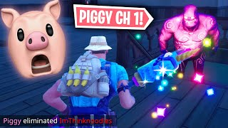Leak Chapter 12 Piggy Roblox Skins Someone Made Roblox Piggy In Fortnite Minecraftvideos Tv