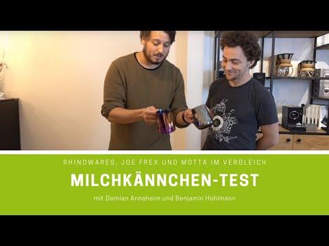 Milchkännchen-Test: Rhinowares, Joe Frex und Motta im Vergleich
