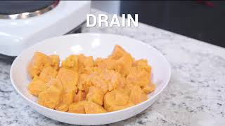 Nutrition During Head and Neck Cancer Treatment: Sweet Potato Mash