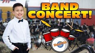 Evan's BAND CONCERT! Big Beats and Waffle Cones!