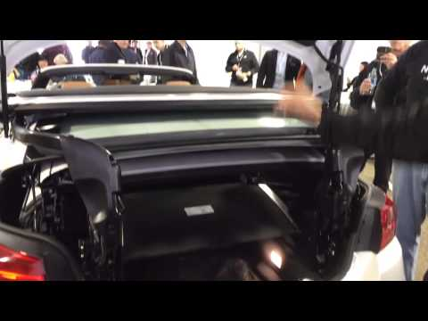 BMW 4 Series Convertible Trunk Access