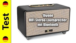 1byone HIFI Stereo-Lautsprecher mit Bluetooth Test (deutsch)