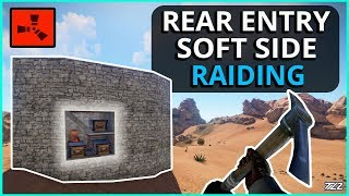 Rear Entry Rust Soft-Side PICK RAIDING!! Rust Solo Survival Gameplay Part 2