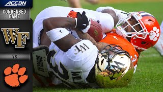 Wake Forestvs. Clemson Tigers Condensed Game | ACC Football (2019-20)