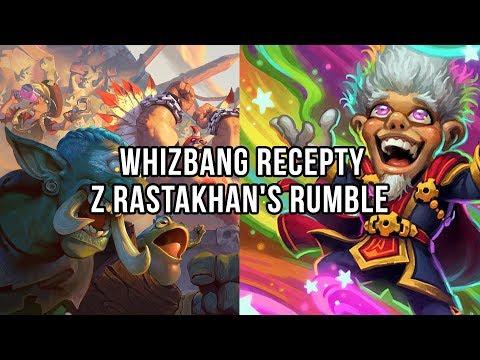 Whizbang recepty z Rastakhan's Rumble pro F2P hráče