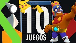 10 JUEGOS IMPRESCINDIBLES para tu MÓVIL en 2019