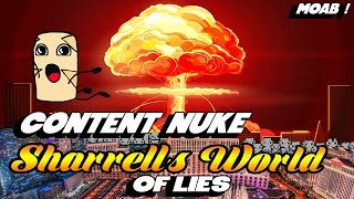 SHARRELL'S WORLD CONTENT NUKE - Without A Crystal Ball Unirock Response and Evidence