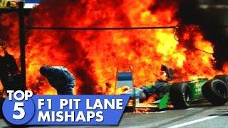 Top 5 F1 Pit Stop Mishaps