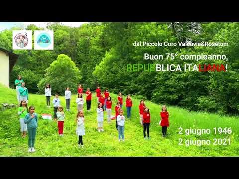 Buon compleanno Repubblica, l'inno d'Italia cantato dai bimbi della Valcuvia