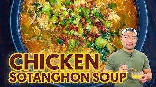 Easy Chicken Sotanghon Soup