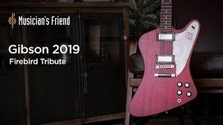 Gibson 2019 Firebird Tribute Electric Guitar Demo