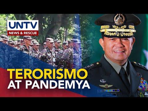 [UNTV]  Pagkakaisa laban sa terorismo at pandemya, ipinanawagan ng bagong AFP Chief