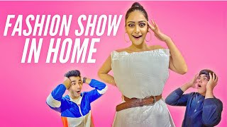 Watch CREATING FASHION SHOW IN HOME CHALLENGE  Don't miss your chance to increase your budget https://bit.ly/3alyNjv
