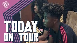 Angel Gomes, Video Game Champion! | Today On Tour | USA Tour 2018 Live on MUTV
