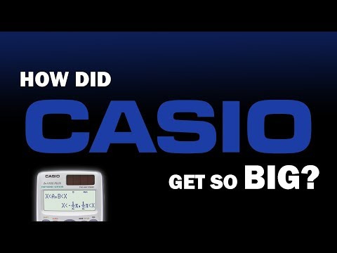 How Did CASIO Get So Big?