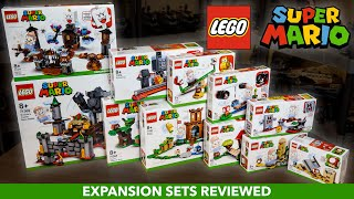Every LEGO Super Mario Expansion Set Reviewed