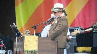 Dr. John, Ice Age, 04-29-2012, Jazz Fest.