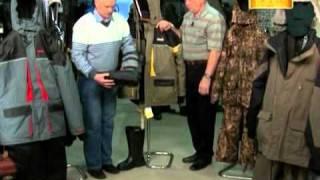 Смотреть онлайн Особенности выбора одежды для зимней рыбалки