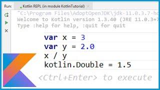 Kotlin for Beginners - Part 7 - READ, EVAL, PRINT, LOOP (REPL)