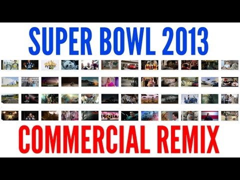 Video: Every Super Bowl Commercial Mashed Up Into One Remix