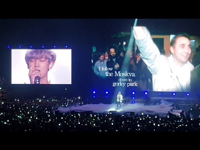 Park Chanyeol Exo Wind Of Change Scorpion Cover 091518 Full Fancam