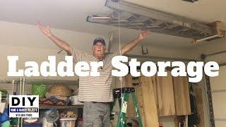 Ladder Storage