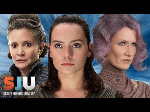 Star Wars: The Last Jedi Edit Cuts Out All Women - SJU