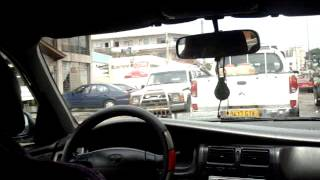 preview picture of video 'Taxi Drive Though Libreville Gabon - 8th March 2010 240'