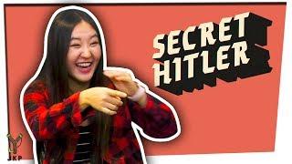 You Can't Be Trusted!   Secret Hitler ft. Megan Lee