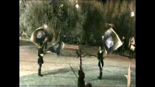 preview picture of video 'Palio degli Arcieri di Signa 2012 [parte 6] sbandieratori'