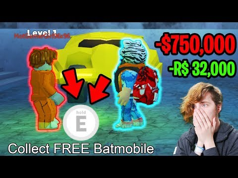 HOW TO GET the BATMOBILE or TORPEDO for FREE! NEW VEHICLES! | Roblox