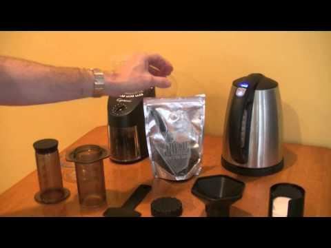 CPO's Perfect Cup of Coffee : Tonx + Capresso + Aeropress
