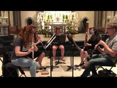 Summer Evening at Ile-Ife for Woodwind Quintet - Godwin Sadoh