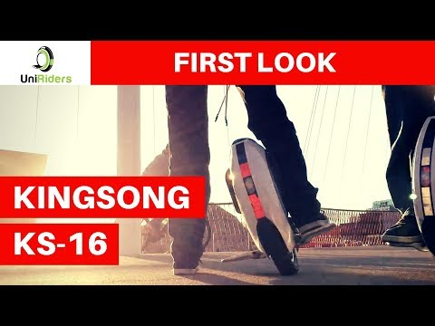 First look at KingSong KS16 Electric Unicycle – Review of best electric unicycle
