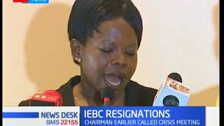 IEBC convene a crisis meeting after three Commissioners resign