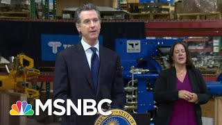 California Governor Orders Seven Counties To Close Bars, Nightlife | MSNBC