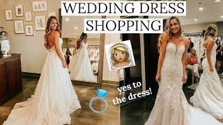 WEDDING DRESS SHOPPING! I said YES to the dress | Essense of Australia