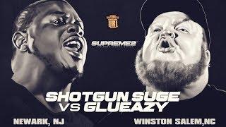 SHOTGUN SUGE VS GLUEAZY SMACK/ URL RAP BATTLE| URLTV