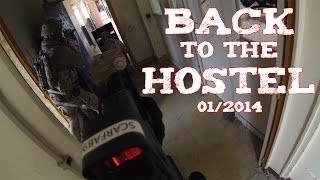 preview picture of video '(Airsoft) Back to The Hostel - Wild Trigger - 01/2014'