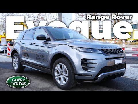 New Range Rover Evoque P250 SE 2021 Review Interior Exterior