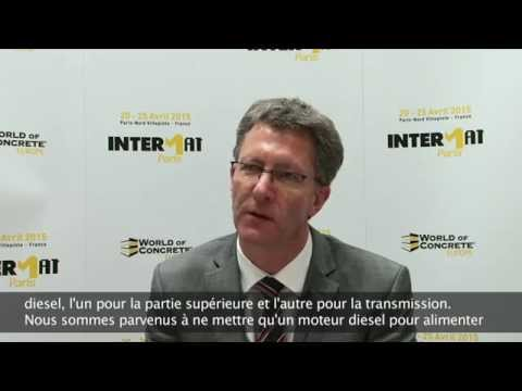 Ils préparent INTERMAT Paris 2015 - LIEBHERR