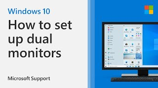 How to set up multiple monitors on Windows 10 | Microsoft